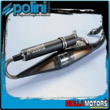 200.0285 MARMITTA POLINI MALAGUTI F12R LC MOD.SCOOTER TEAM 3