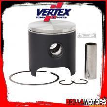 23091D PISTONE VERTEX 53,98mm 2T APRILIA RS, GP125, Nikasil Cylinder ring 0,8mm - 125cc (1 segmenti)