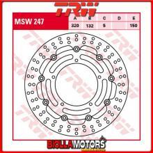 MSW247 DISCO FRENO ANTERIORE TRW Yamaha YZF 1000 R1 2004-2006 [FLOTTANTE - ]