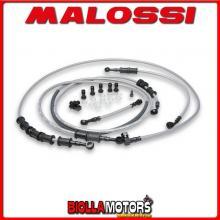 2213103 KIT TUBI FRENO MALOSSI ANTERIORI+POSTERIORI YAMAHA T MAX 500 ie 4T LC 2004-07