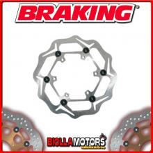 WL4016 DISCO FRENO ANTERIORE SX BRAKING BETA RR 2T ENDURO 250cc 2013-2017 WAVE FLOTTANTE