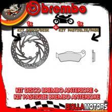 KIT-DJ1H DISCO E PASTIGLIE BREMBO ANTERIORE APRILIA PEGASO 650CC 1996- [SD+FISSO] 68B407G5+07BB04SD