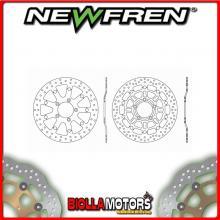 DF5213AFV DISCO FRENO ANTERIORE NEWFREN TRIUMPH DAYTONA i 955cc 955i 2003-2006 FLOTTANTE VINTAGE