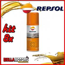 KIT 8X 400ML REPSOL MOTO CHAIN 400ML - 8x REPSOL36