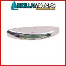 2145773 LUCE CORTESIA SMOOTH CHROME LED WHITE< Luci di Cortesia LED 12V Smooth Chrome