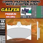 FD085G1651 PASTIGLIE FRENO GALFER PREMIUM ANTERIORI RIEJU EVASION 09-