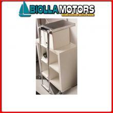 0505324 SCALETTA SCOMPARSA 4GR INOX BOX Scalette Telescopiche in Box