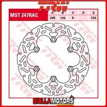 MST247RAC DISCO FRENO POSTERIORE TRW Laverda 650 Sport 1995-2001 [RIGIDO - CON CONTOUR]