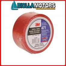 5720875 3M NASTRO PVC 471 50MMX33M RED Nastro 3M Scotch 471 PVC