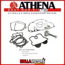 PB322018 KIT BIELLA + GUARNIZIONI ATHENA HONDA CRF 250 X 2004-2017 250CC -