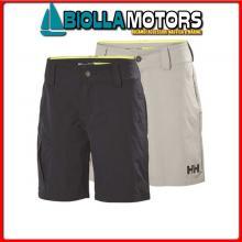 3040935 HH W CARGO SHORTS 853 GREY 50 Shorts HH QD Cargo Donna
