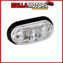 98484 LAMPA LUCE INGOMBRO A 2 LED, 24V - BIANCO