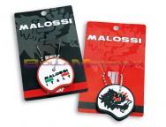 4214195 2 COPRI CHIAVE MALOSSI NERO / ROSSO