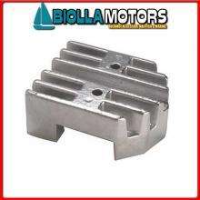 5123000 ANODO MOTORE MERCRUISER Placca Alpha/Bravo