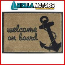 5801904 MB WELCOME TAPPETO 70X50 WELCOME ANCHOR Tappeto Anchor
