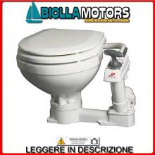 1321500 TOILET JOHNSON MAN COMPACT WC - Toilet Manuale Johnson