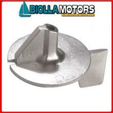 5123305 ANODO MOTORE MERCURY Pinna 15/20/25 (Nuovo Tipo)
