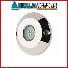 2121612 FARETTO SUB LED ROUND 6X10W BLUE< Faro Subacqueo MTM LED-60W
