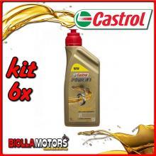 KIT 6X LITRO OLIO CASTROL POWER 1 2T - 6x CA15B64B