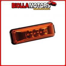 98876 LAMPA LUCE INGOMBRO A 3 LED, 24V - ARANCIO