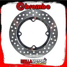 68B407L9 REAR BRAKE DISC BREMBO HONDA CB F 2013- 500CC FIXED