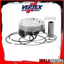 22812E PISTONE VERTEX 76,98mm 4T HC FANTIC MOTOR TF250 ES Compr 13,5:1 - 2 RINGS 2012-2014 250cc (set segmenti)