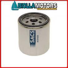 4121425 CARTUCCIA OIL V-3840525C< Filtro Olio Sacs per Motori D1../D2..