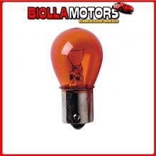98219 LAMPA 24V LAMPADA 1 FILAMENTO - PY21W - 21W - BAU15S - 2 PZ - D/BLISTER - ARANCIO
