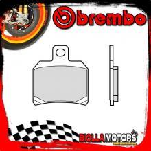 07BB209A PASTIGLIE FRENO POSTERIORE BREMBO MOTO GUZZI V7 CAFE' CLASSIC 2010- 750CC [9A - GENUINE SINTER]