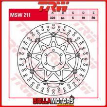 MSW211 DISCO FRENO ANTERIORE TRW Laverda 650 Sport 1995-2001 [FLOTTANTE - ]