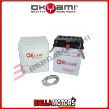E07003 BATTERIA OKYAMI YB2.5L-C2 YB25LC2 MOTO SCOOTER QUAD CROSS