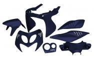 STR-903.SS/BL SET CARENE blu metallizzato 7 pezzi Aerox/Nitro
