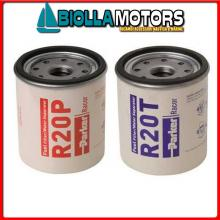 4121201 CARTUCCIA RACOR R12P 30MIC Cartucce per Filtri Separatori Diesel Racor