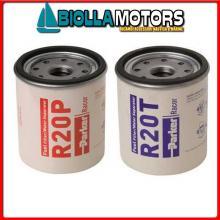 4121213 CARTUCCIA RACOR R20T 10MIC Cartucce per Filtri Separatori Diesel Racor