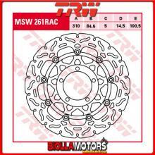 MSW261RAC DISCO FRENO ANTERIORE TRW Triumph TT 600 2000-2003 [FLOTTANTE - CON CONTOUR]