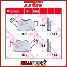 MCB585 PASTIGLIE FRENO POSTERIORE TRW Honda RS 125 R 1991-1994 [ORGANICA- ]