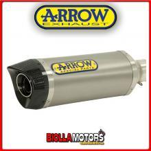 51507PK TERMINALE ARROW STREET THUNDER KEEWAY RKV 125 2011-2015 TITANIO/CARBONIO