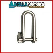 0120916 GRILLO LUNGO PI D6 INOX< Grillo Lungo Key Pin B
