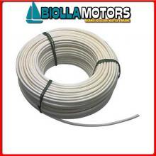 061650820 CAVO INOX+PVC 8MM-20MT< Cavo in Acciaio Inox Plastificato per Battagliola