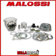319847 GRUPPO TERMICO MALOSSI 50CC D.40 PEUGEOT X-FIGHT 2 50 2T LC 2004-> ALLUMINIO H2O SP.12