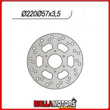 659343 DISCO FRENO POSTERIORE NG MOTOR HISPANIA RX Super Racing L.C. 50CC 2000/2003 343 22080573,56