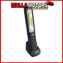 70645 LAMPA GL-7, LAMPADA DA LAVORO RICARICABILE A LED COB - 12/24/230V