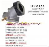 4HC250 COLLETTORE ASPIRAZIONE MAJESTY 250 SKYLINER 250