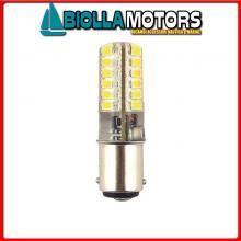 2163257 LED LAMP BA15D GEL 200LM 3W 12/24V< Lampadina LED BA15D Gel 250LM