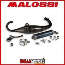 3215341 MALOSSI MHR SCOOTER RACING EXHAUST TEAM 3 Ø 47.6 PIAGGIO-GILERA