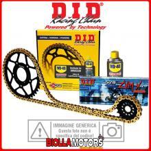 101700 KIT TRASMISSIONE DID 13/50 KTM MX 2T 1988-1989 125CC ALLUMINIO DZ2