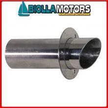 5004610 BOCCHETTONE SCARICO II D100 INOX Bocchettoni di Scarico Inox L