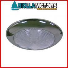 2140056 PLAFONIERA SLIM D132 LED INOX Plafoniere Slim Inox LED