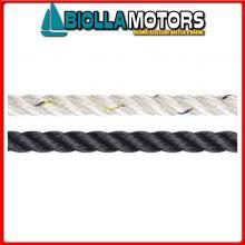 3103122100 LIROS POLYAMIDE ROPE 22MM BLUE NAVY 100M Liros Polyamide Rope