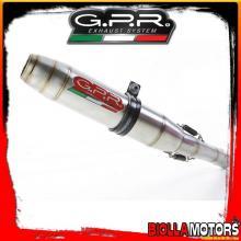 TERMINALE GPR BAJAJA Pulsar 200 NS 200CC 2012-2014 RACING DEEPTONE INOX BJ.RACE.1.DE
